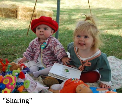 sharing small