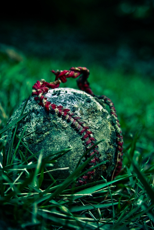 old baseball small