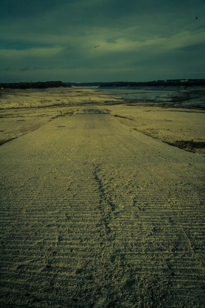 medina lake in drought 2013-22