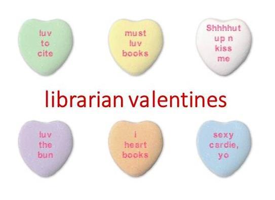 librarian valentines