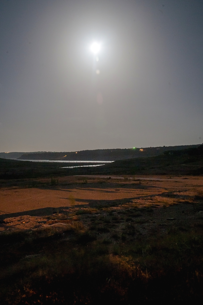 medina lake texas at night-4 small