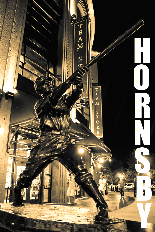 statues of cardinal greats-12 rogers hornsby
