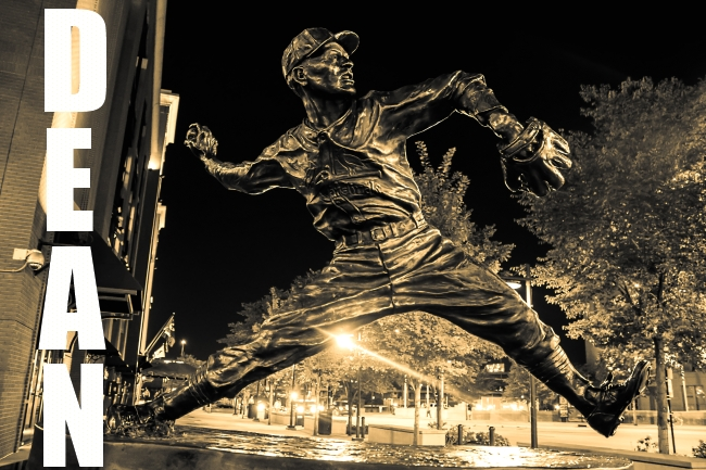 statues of cardinal greats-14 small dizzy dean