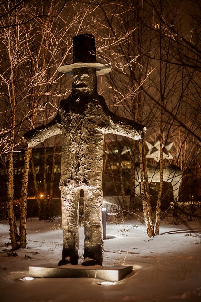 citygarden scarecrow by Donald Baechler-1 small