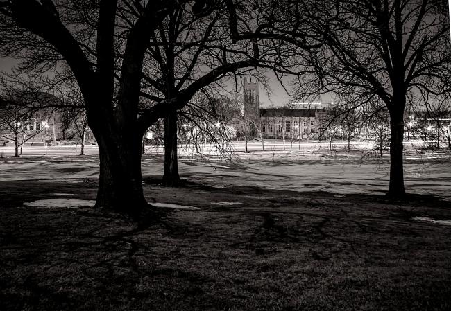 memorial presbyterian church in moonlight with trees-1 small