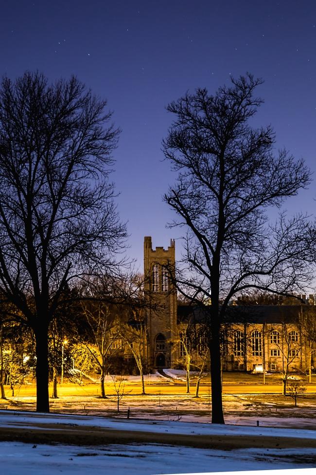 memorial presbyterian church in moonlight with trees-3 small
