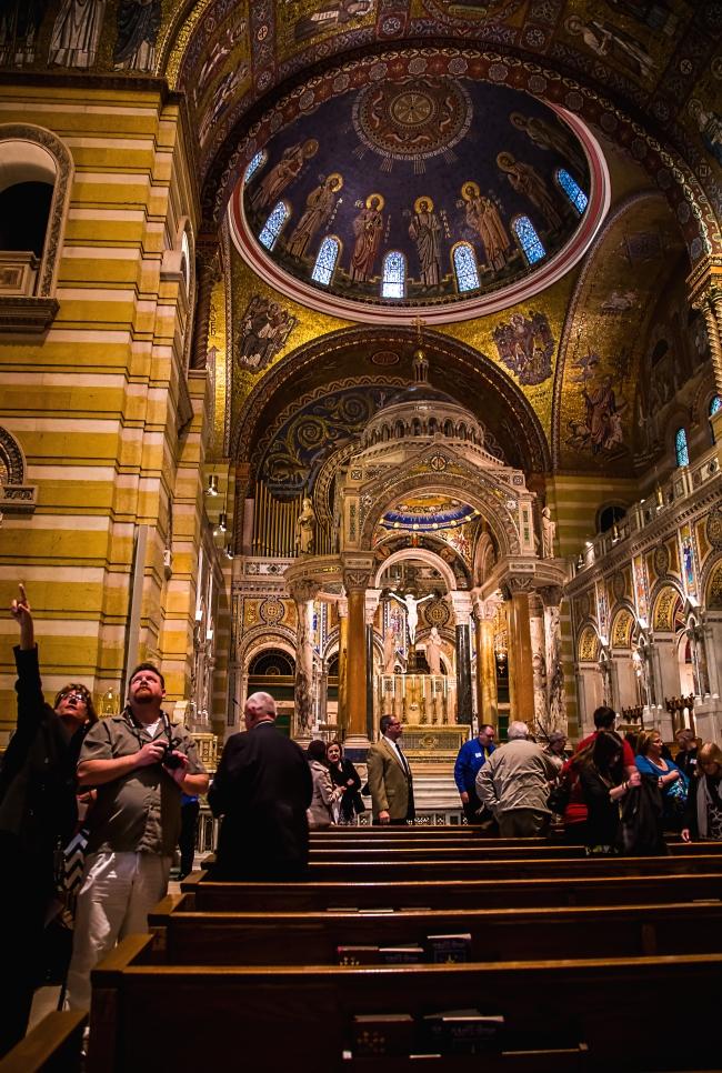 saint louis cathedral basilica interior-1 small