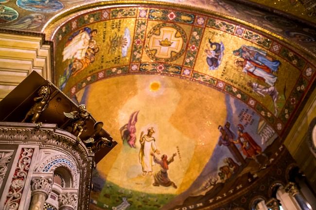 saint louis cathedral basilica interior-14 small
