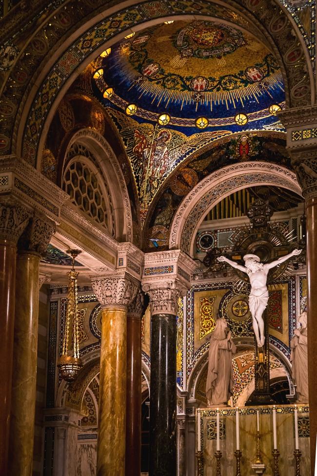 saint louis cathedral basilica interior-15 small