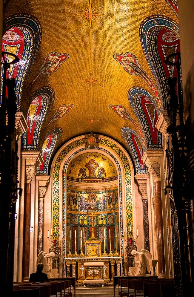 saint louis cathedral basilica interior-23 small