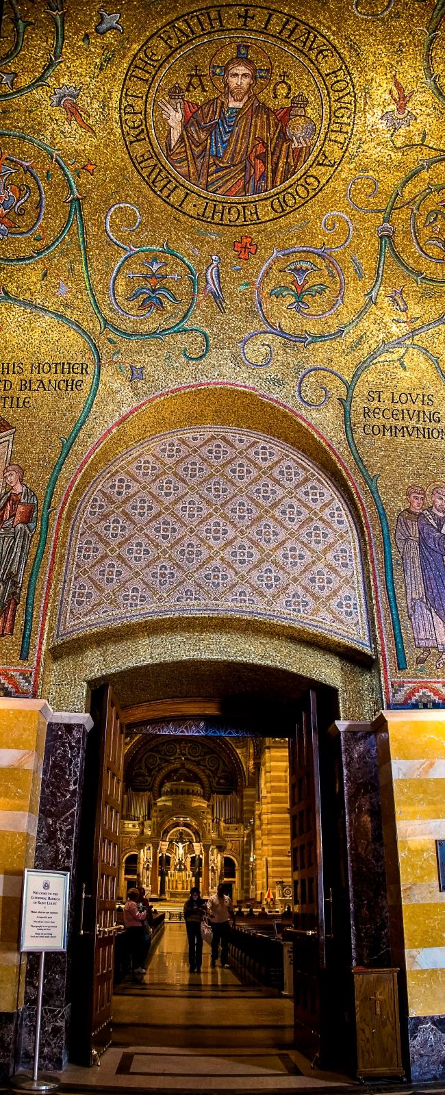 saint louis cathedral basilica interior-30 small