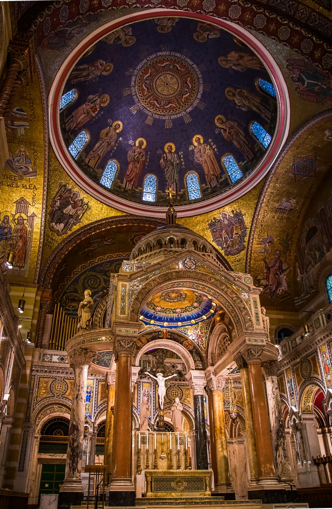 saint louis cathedral basilica interior-8 small
