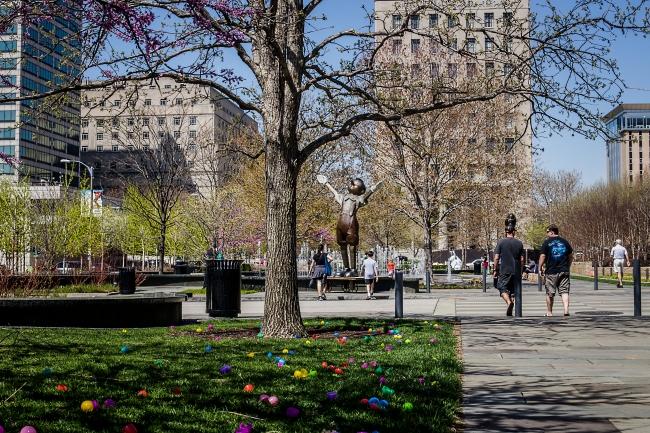 citygarden at easter-2 small