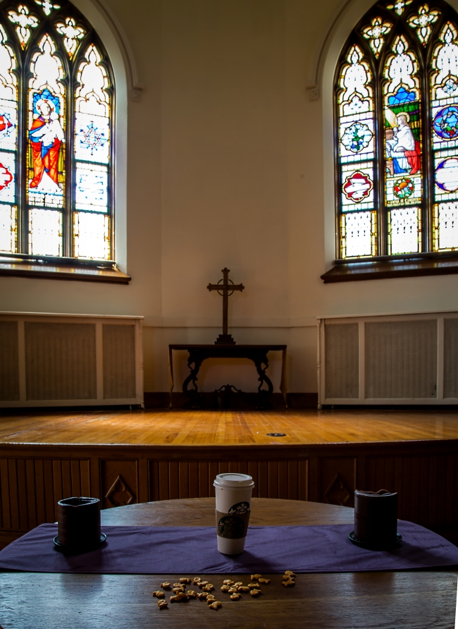 coffee in church body and blood-1 small