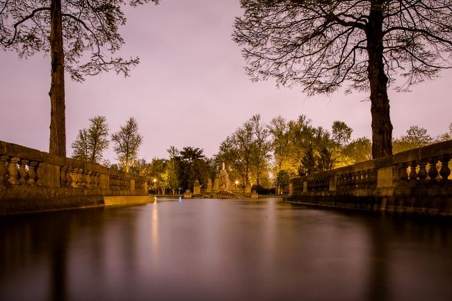 tower grove fountain on a rainy spring night-1 small