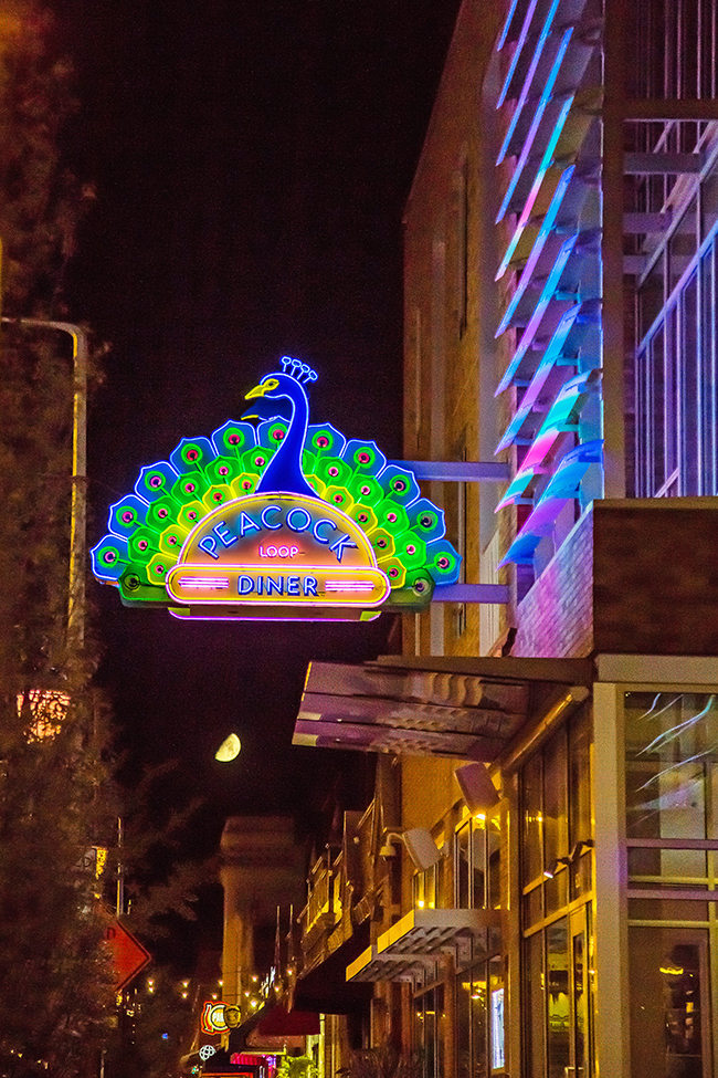 peacock diner with moon-2 small